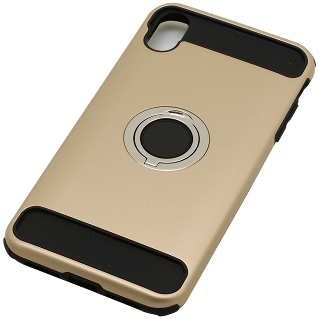 iPhoneXS Max用 6.5インチリング付ケース耐衝撃